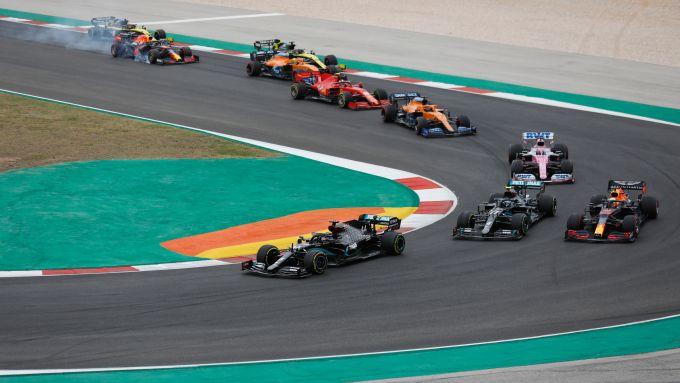 F1 GP Portogallo 2020, Portimao: la partenza della gara