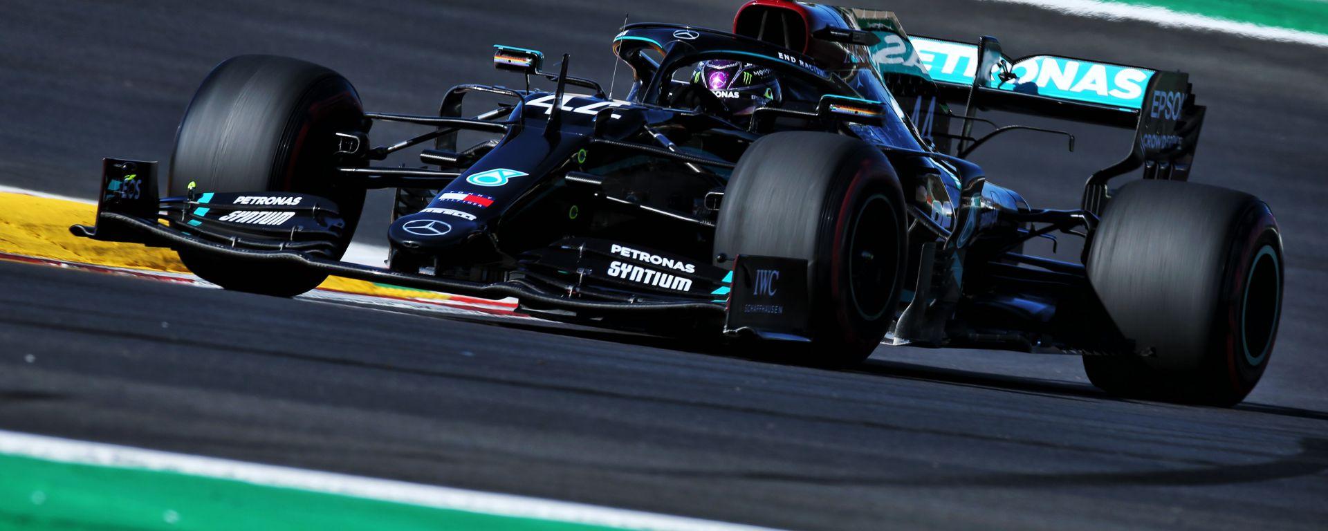 F1 GP Portogallo 2020, Portimao: Lewis Hamilton (Mercedes AMG F1)