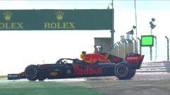 F1 GP Portogallo 2020, Portimao: Max Verstappen (Red Bull Racing) in testacoda nelle PL1
