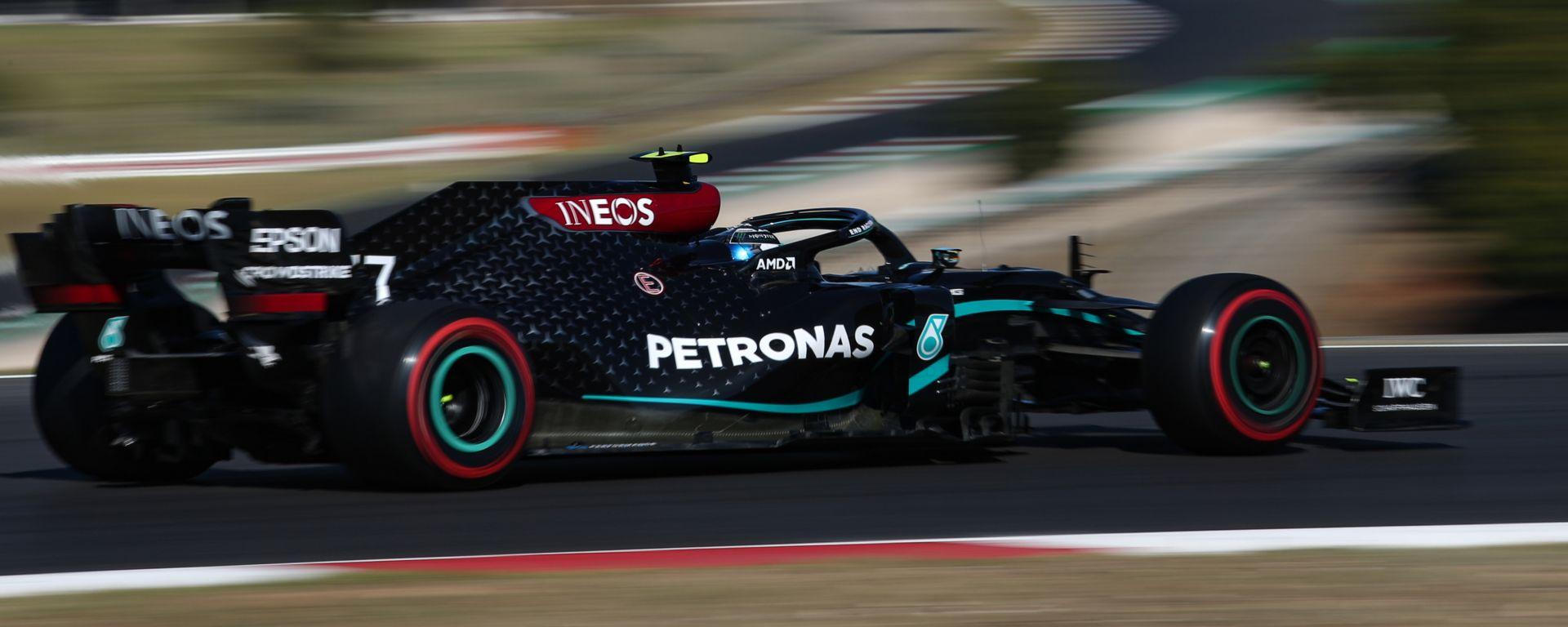 F1 GP Portogallo 2020, Portimao: Valtteri Bottas (Mercedes AMG F1)