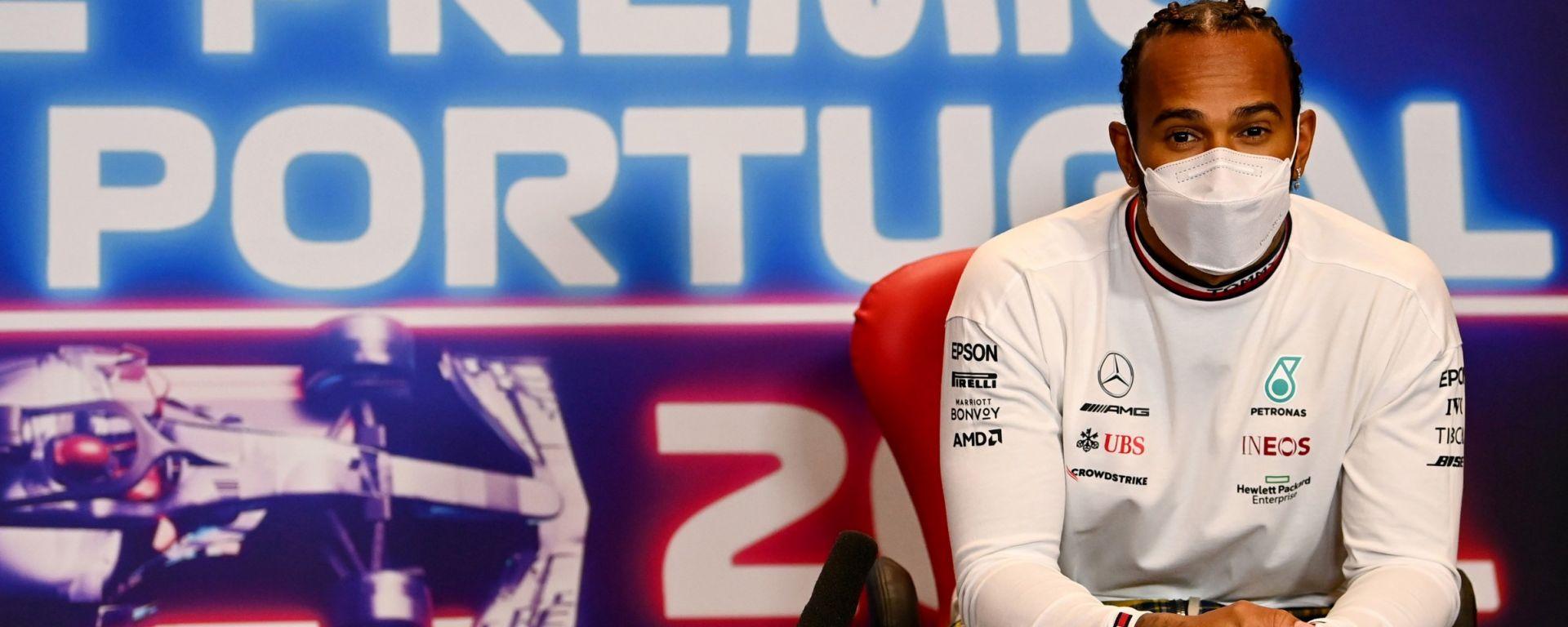 F1, GP Portogallo 2021: Lewis Hamilton (Mercedes)