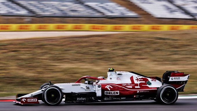 F1 GP Portogallo 2021, Portimao: Callum Ilott (Alfa Romeo Racing)