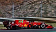 Ferrari in Spagna senza il fondo testato a Portimao