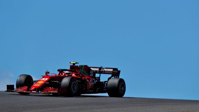 F1 GP Portogallo 2021, Portimao: Carlos Sainz (Scuderia Ferrari)