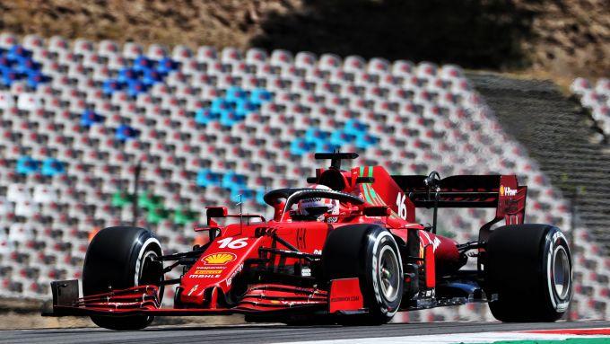 F1 GP Portogallo 2021, Portimao: Charles Leclerc (Scuderia Ferrari)