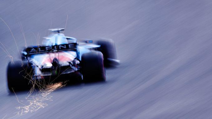 F1 GP Portogallo 2021, Portimao: Fernando Alonso (Alpine F1 Team)