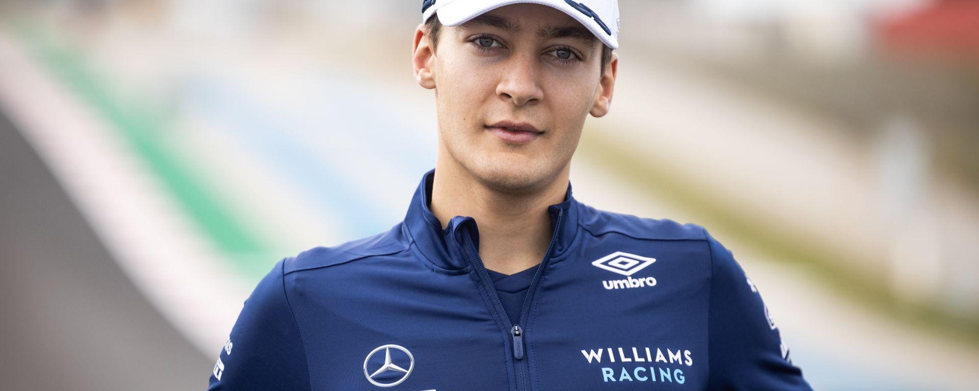 F1 GP Portogallo 2021, Portimao: George Russell (Williams)