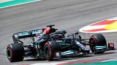 F1 GP Portogallo 2021, PL2: Hamilton davanti, Sainz 4°