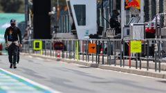 F1 GP Portogallo 2021, Portimao: Valtteri Bottas (Mercedes AMG F1) in pit-lane prima del via