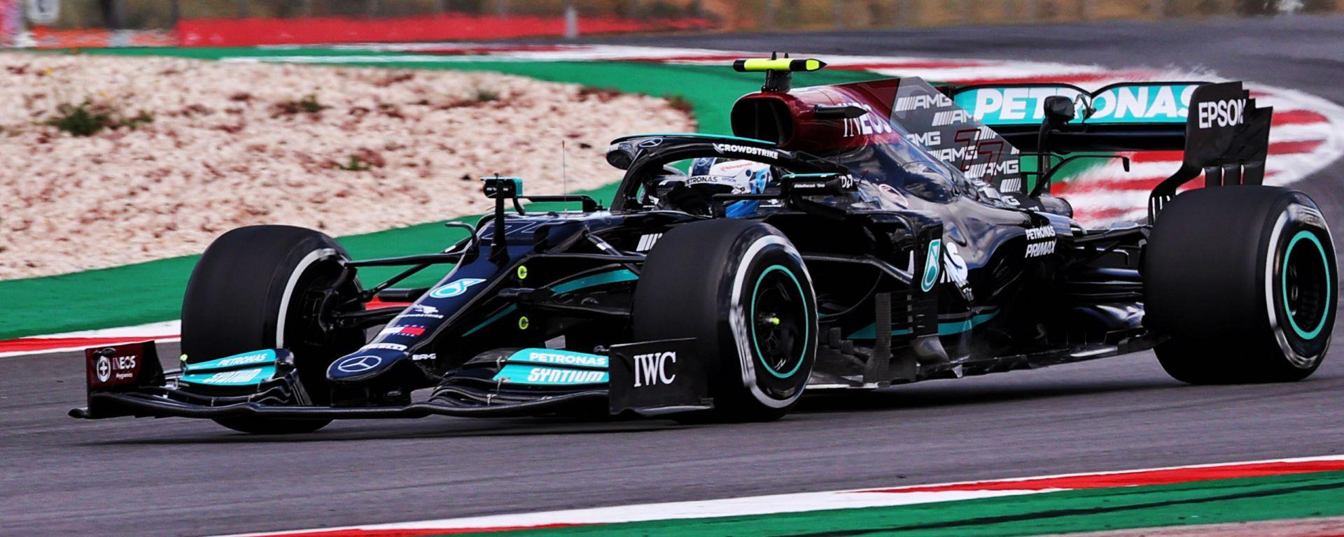 F1 GP Portogallo 2021, Portimao: Valtteri Bottas (Mercedes AMG F1)