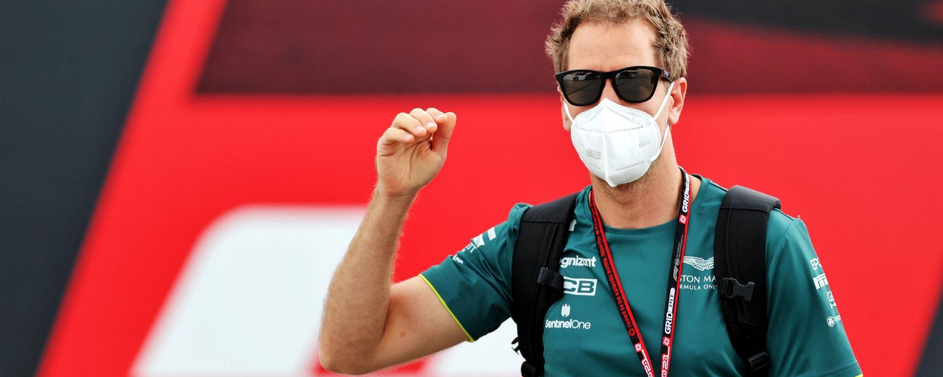 F1, GP Portogallo 2021: Sebastian Vettel (Aston Martin)