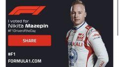 F1, GP Portogallo 2021: uno dei tanti voti arrivati per MazeSpin