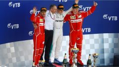 F1 GP Russia 2017, il podio