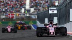 F1 GP Russia 2017, le due Force India