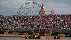 F1 GP Russia 2018, Sochi, fasi di gara