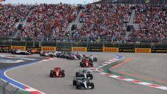 F1 GP Russia 2018, Sochi, la partenza