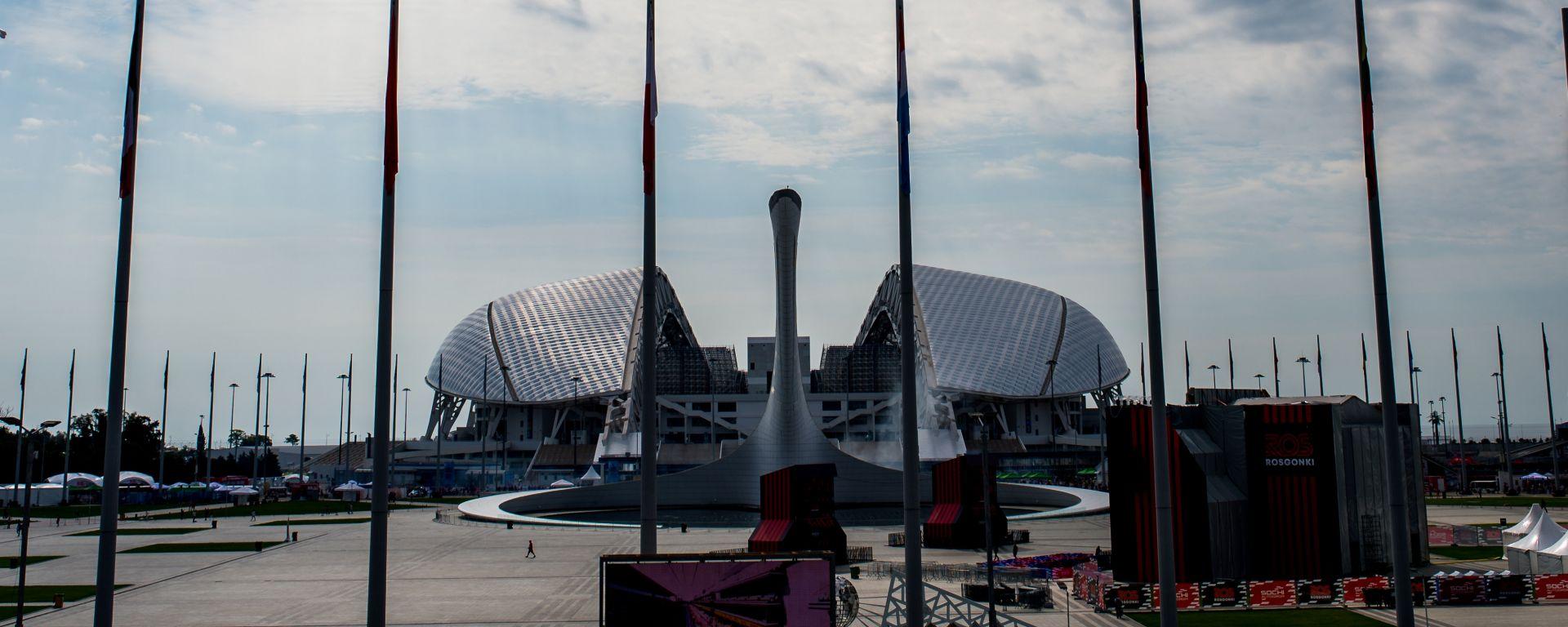 F1 GP Russia 2019, Sochi: Atmosfera del circuito