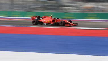 F1 GP Russia 2019, Sochi: Charles Leclerc (Ferrari) è stato il più veloce nella prima sessione