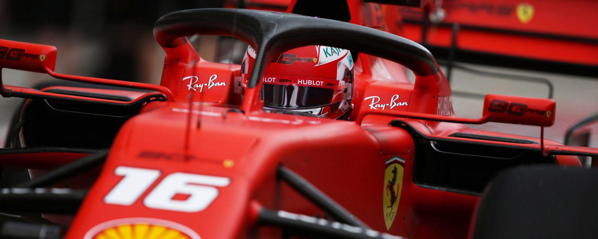 F1 GP Russia 2019, Sochi: Charles Leclerc (Ferrari)