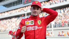 Charles Leclerc, il poker dell'asso