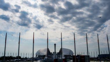 F1 GP Russia 2019, Sochi: il parco olimpico attorno al quale si snoda il circuito russo