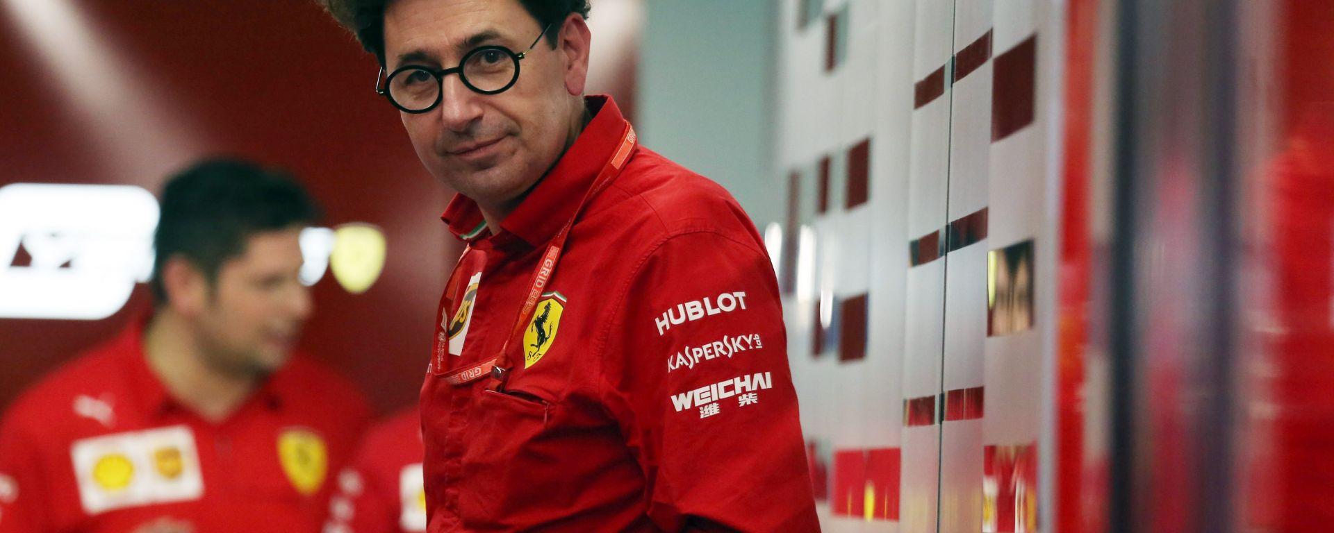 F1 GP Russia 2019, Sochi: Mattia Binotto (Ferrari)