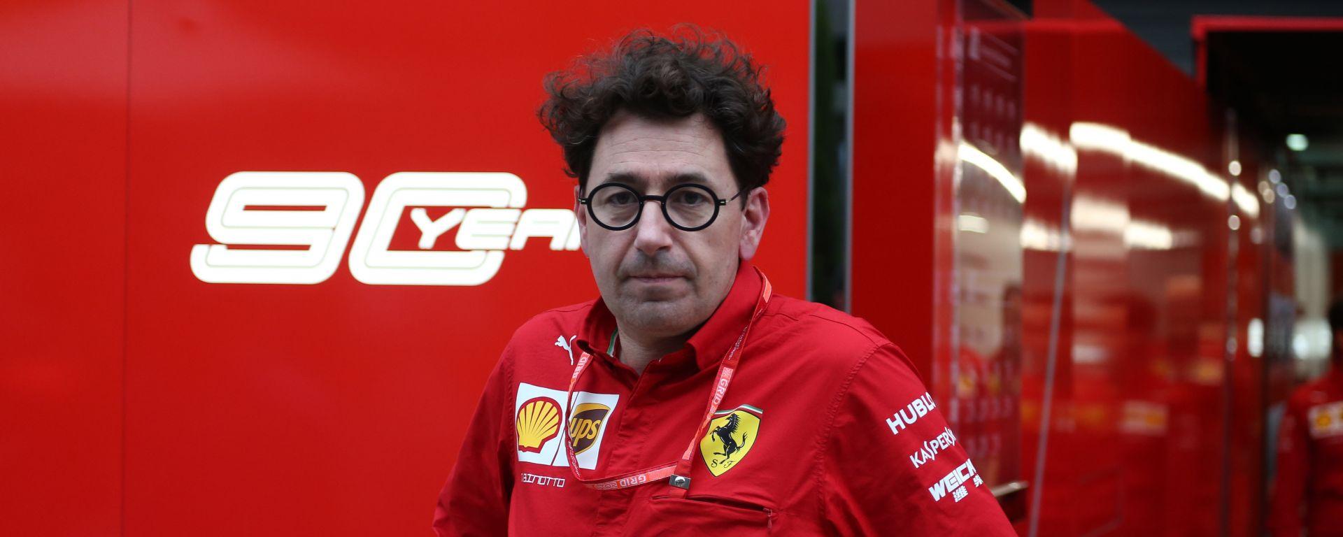 F1 GP Russia 2019, Sochi, Mattia Binotto (Ferrari)
