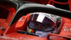 F1 GP Russia 2019, Sochi: Sebastian Vettel (Ferrari) all'interno della sua SF90