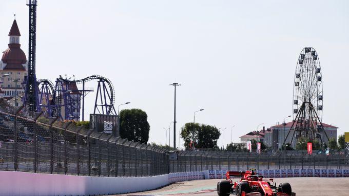F1 GP Russia 2020, Sochi: Charles Leclerc (Scuderia Ferrari)