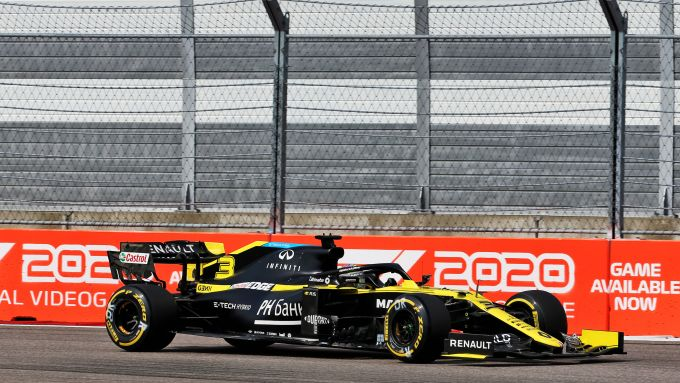 F1 GP Russia 2020, Sochi: Daniel Ricciardo (Renault Sport F1)
