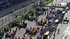 F1 GP Russia 2020, Sochi: la griglia di partenza