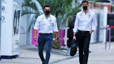F1 GP Russia 2020, Sochi: Toto Wolff (Mercedes AMG F1) nel paddock
