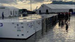 Sochi allagata: rischio pioggia anche per il GP Russia
