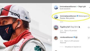 F1, GP Russia 2021: l'Ermetico Kimi