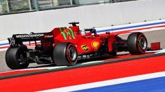 F1 GP Russia 2021, PL1: Bottas-Hamilton, poi Verstappen