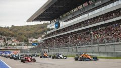 Var F1 GP Russia 2021: Norris evita la penalità al pit