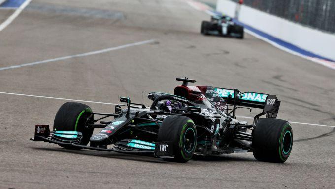 F1 GP Russia 2021, Sochi: Lewis Hamilton (Mercedes AMG F1)