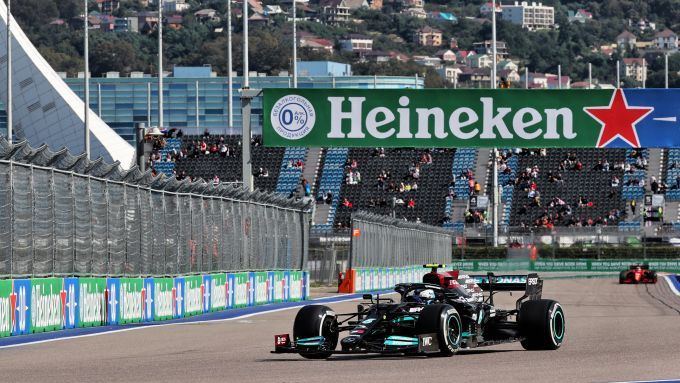 F1 GP Russia 2021, Sochi: Valtteri Bottas (Mercedes AMG F1)