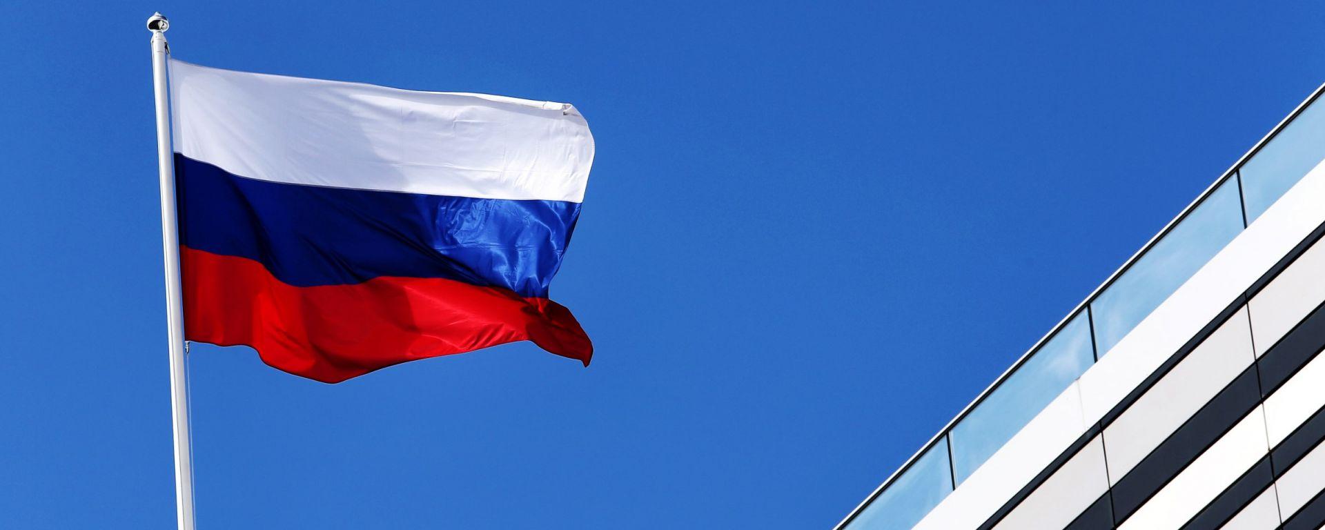F1, GP Russia: la bandiera nazionale