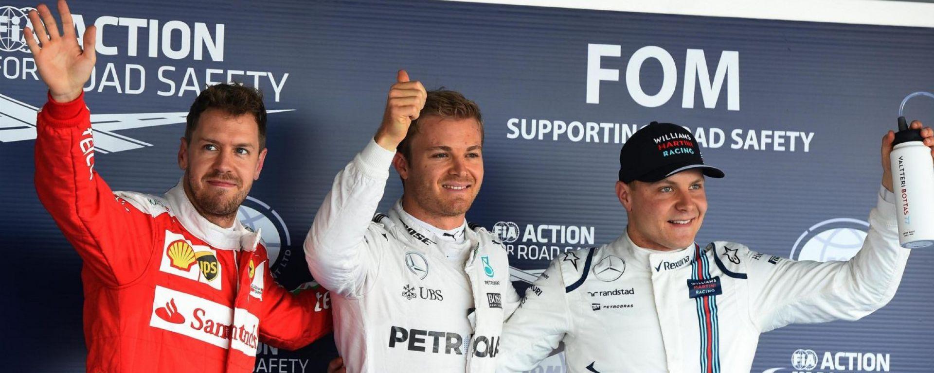 F1 GP Russia: Rosberg Poleman, il momento magico continua
