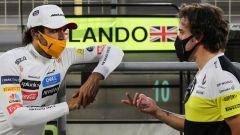 F1, GP Sakhir 2020: Carlos Sainz e Fernando Alonso