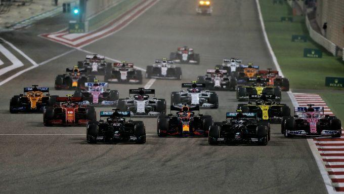 F1, GP Sakhir 2020: la partenza