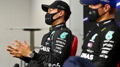 F1 GP Sakhir 2020, Manama: George Russell e Valtteri Bottas (Mercedes AMG F1)
