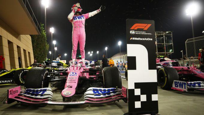 F1 GP Sakhir 2020, Manama: Sergio Perez (Racing Point)