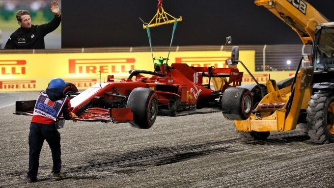 F1, GP Sakhir: premio Tributo a Grosjean