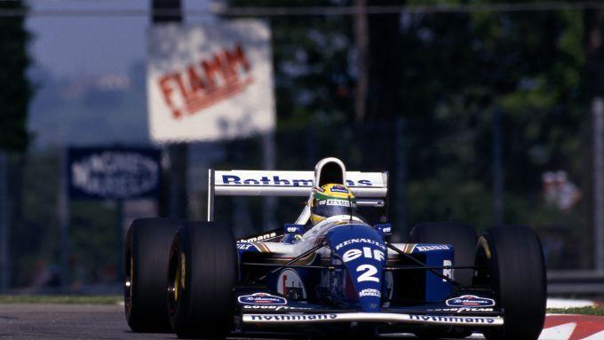 F1 GP San Marino 1994, Imola: Ayrton Senna (Williams Racing)