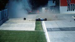 F1 GP San Marino 1994, Imola: l'incidente di Ayrton Senna