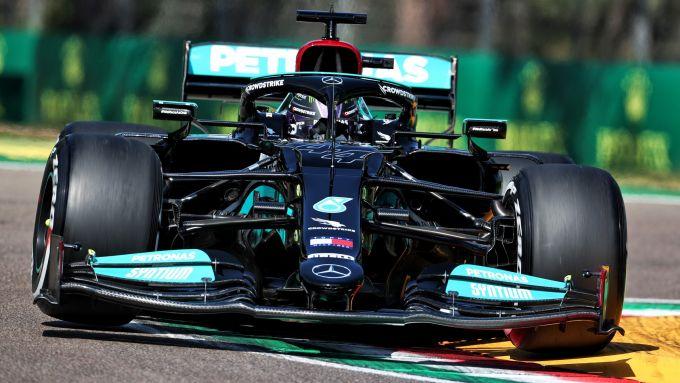 F1, GP San Marino 2021: Lewis Hamilton (Mercedes)