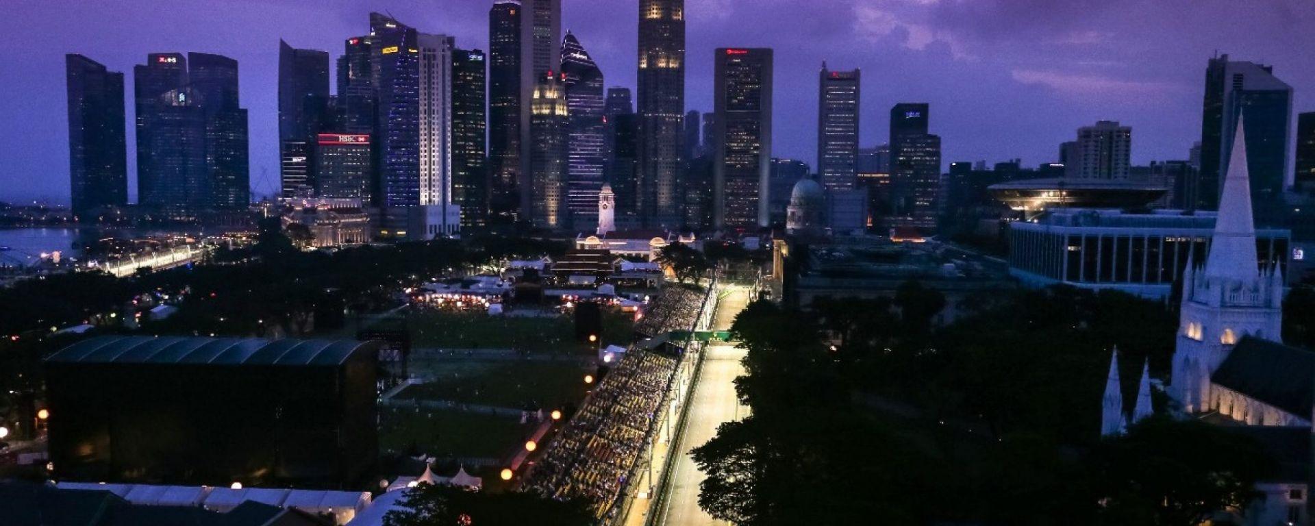 F1 GP Singapore 2018, tutte le info: orari, risultati prove, qualifica, gara