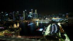 F1 GP Singapore 2019, la pista di Marina Bay vista dall'alto